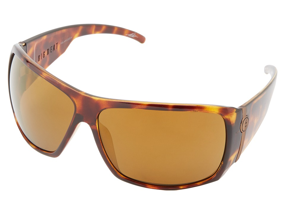 Electric Eyewear - Big Beat Polarized (Tortoise Shell/M2 Bronze Polar) Plastic Frame Sport Sunglasses
