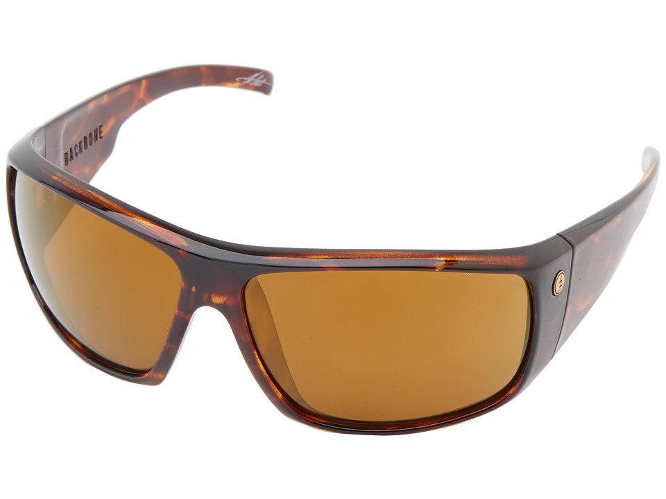 Electric Eyewear - Backbone (Tortoise Shell/M2 Bronze Polar) Sport Sunglasses