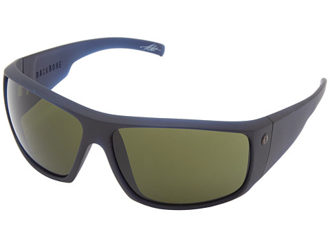 Electric Eyewear - Backbone (Indigo/M Grey) Sport Sunglasses