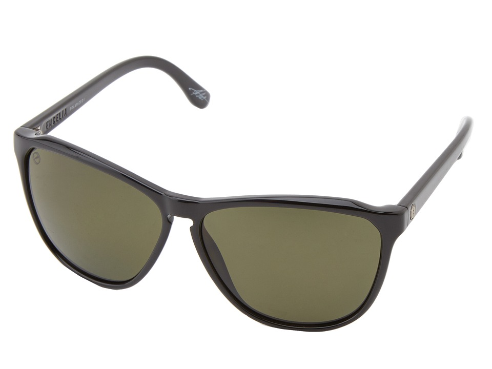 Electric Eyewear - Encelia (Gloss Black/M1 Grey Polar) Sport Sunglasses