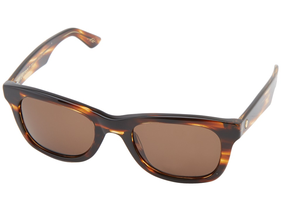 Electric Eyewear - Detroit XL (Tortosie Shell/M Bronze) Fashion Sunglasses