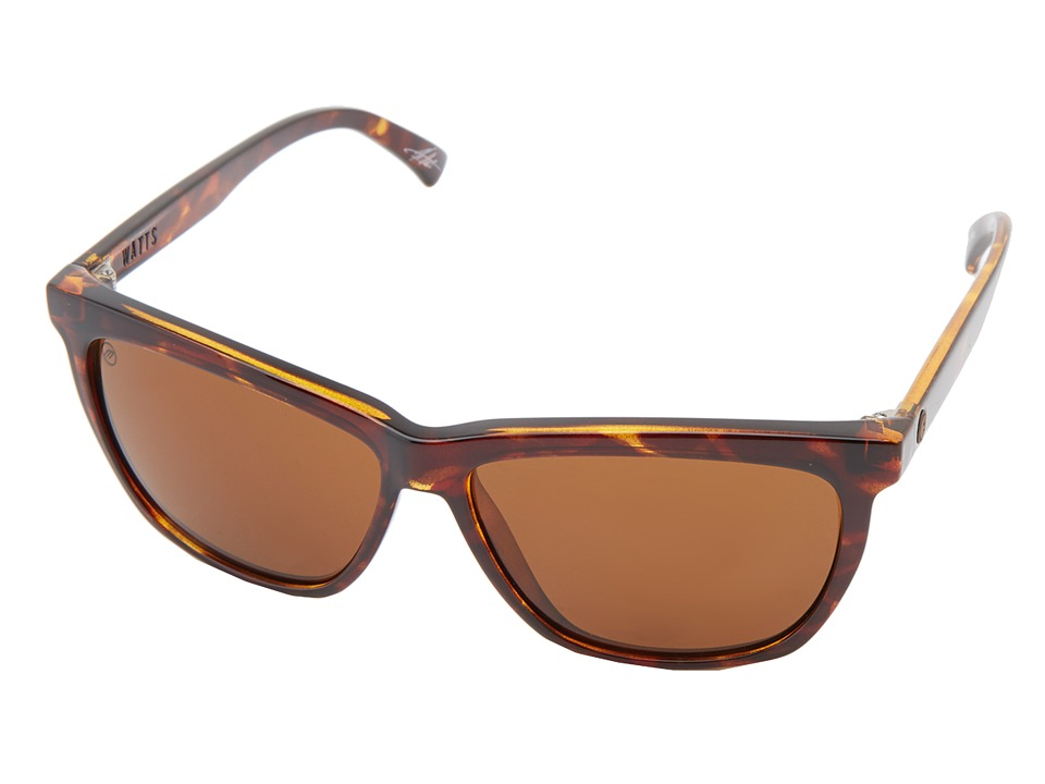 Electric Eyewear - Watts (Tortiose Shell/M Bronze) Sport Sunglasses