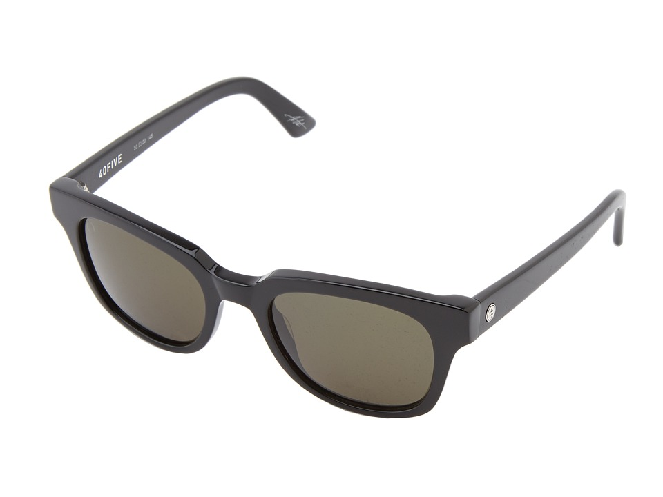Electric Eyewear - 40Five (Gloss Black/M Grey) Sport Sunglasses