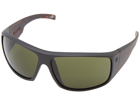 Electric Eyewear - Backbone (Matte Black Tort/M Grey) Sport Sunglasses