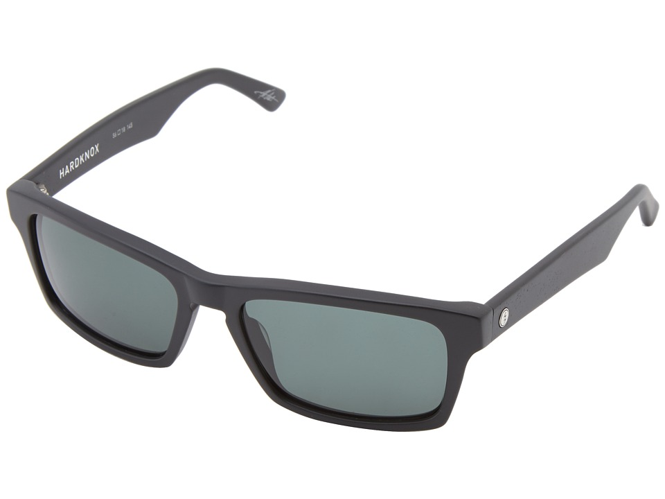 Electric Eyewear - Hardknox (Matte Black/M Grey) Plastic Frame Sport Sunglasses