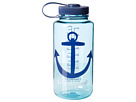 Life is good Water Bottle (Turquoise Blue)