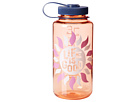 Life is good Water Bottle (Washed Orange)