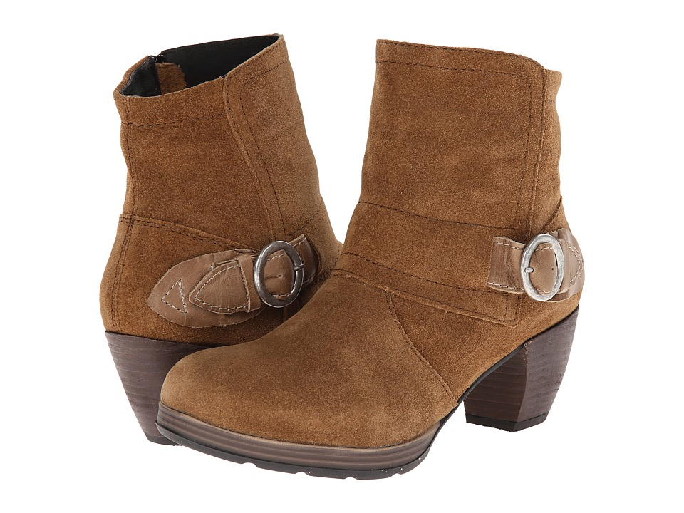 Wolky - Urabi (Bison Greased Suede) Women