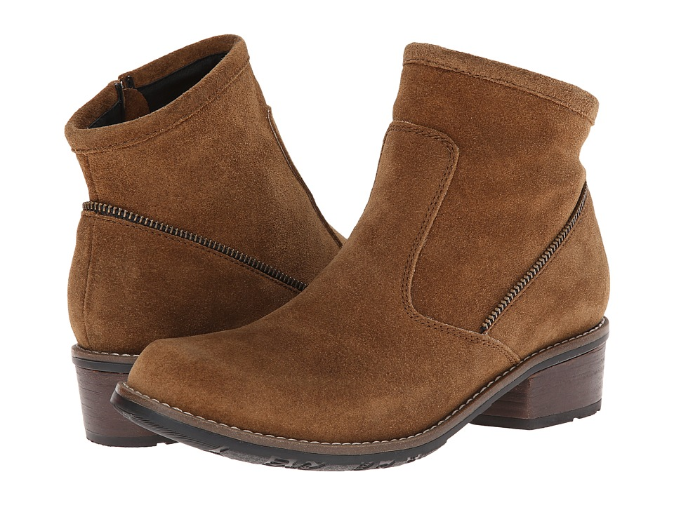 Wolky - Vernon (Bison Greased Suede) Women's Boots