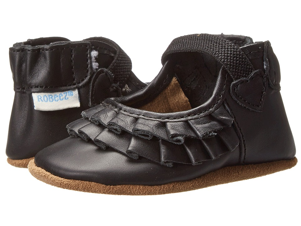 Robeez - Pandora Soft Soles (Infant/Toddler) (Black) Girls Shoes