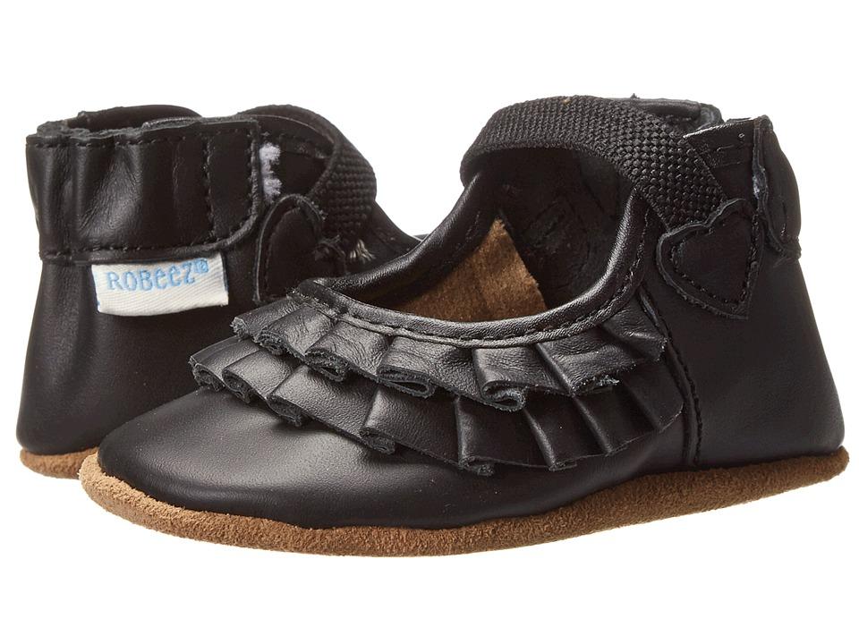 Robeez - Pandora Soft Soles (Infant/Toddler) (Black) Girls Shoes
