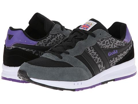 Gola - Samurai Leopoard (Black/Grey/Black) Women's Shoes