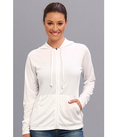 White Sierra - Bug Free Zip Hoodie (White) Women's Sweatshirt