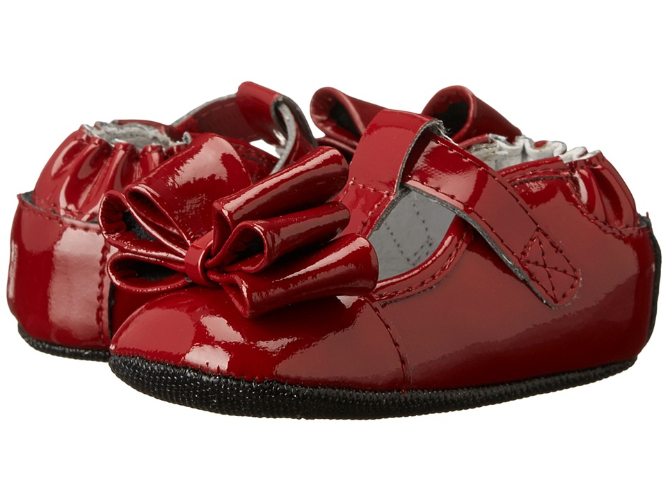 Robeez - Bow Magic Mini Shoez (Infant/Toddler) (Cranberry) Girls Shoes