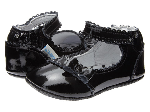 Robeez - Catherine Mini Shoez (Infant/Toddler) (Black) Girls Shoes