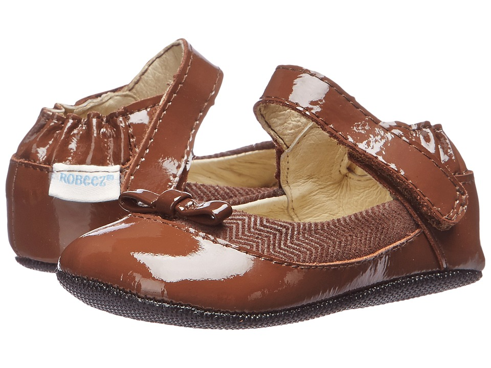 Robeez - Eloise Mini Shoez (Infant/Toddler) (Brown) Girls Shoes