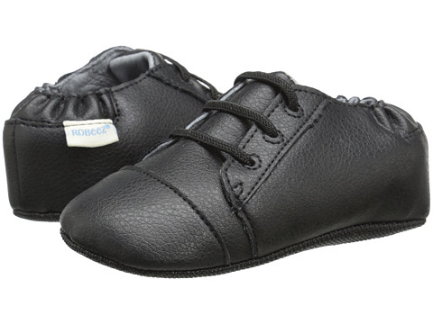 Robeez - Basic Brian Mini Shoez (Infant/Toddler) (Black) Boys Shoes