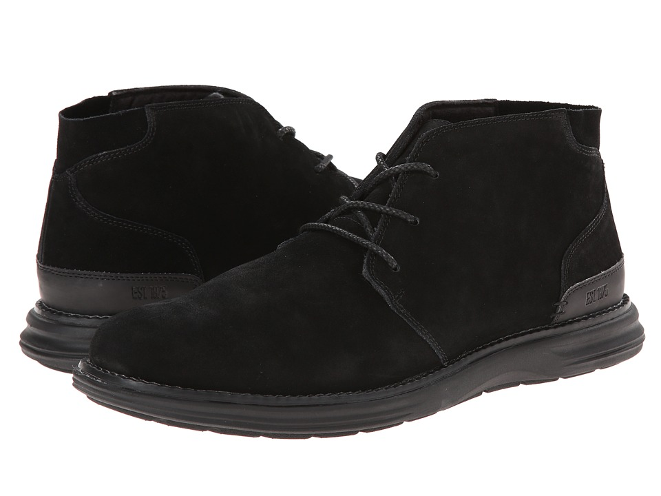 Stacy Adams - Aldrin (Black Suede) Men