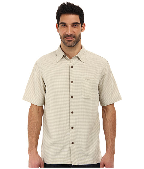 White Sierra - Sandpiper Short Sleeve Shirt (Stone) Men