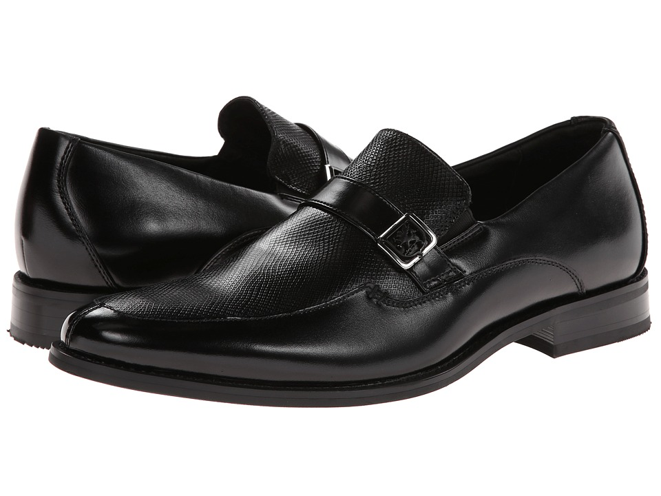 Stacy Adams Fontaine (Black Leather) Men