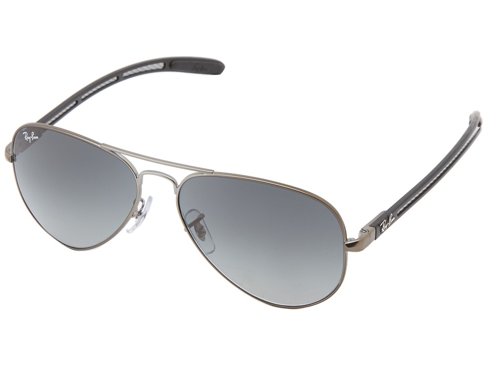 Ray-Ban - RB8307 58mm (Matte Gunmetal) Fashion Sunglasses