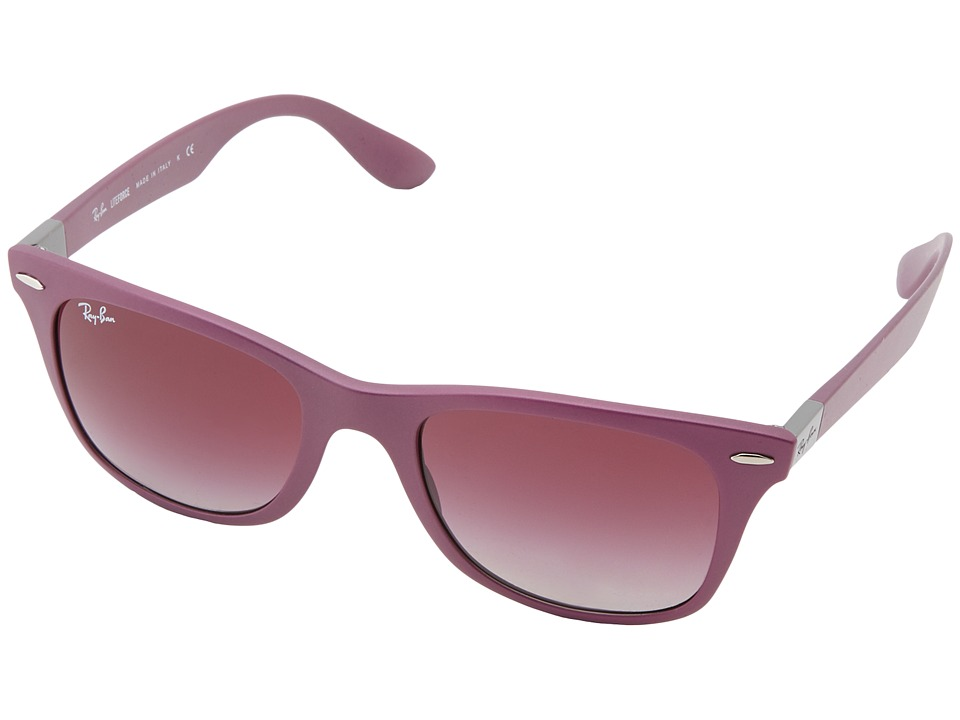 Ray-Ban - RB4195 Tech Liteforce 52mm (Metallic Violet) Fashion Sunglasses