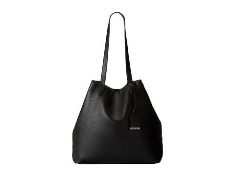 Kenneth Cole Reaction - Moto Stud Tote (Black) Shoulder Handbags