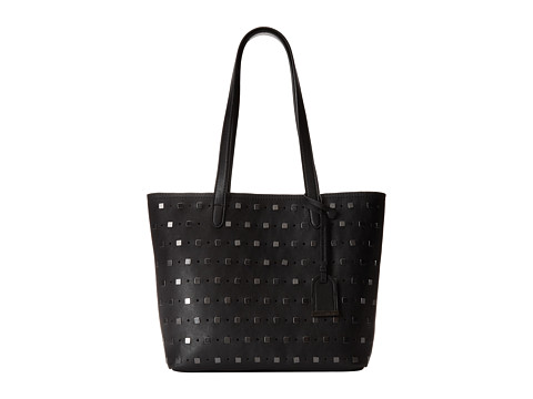 Kenneth Cole Reaction - Moto Stud Medium Tote (Black) Tote Handbags