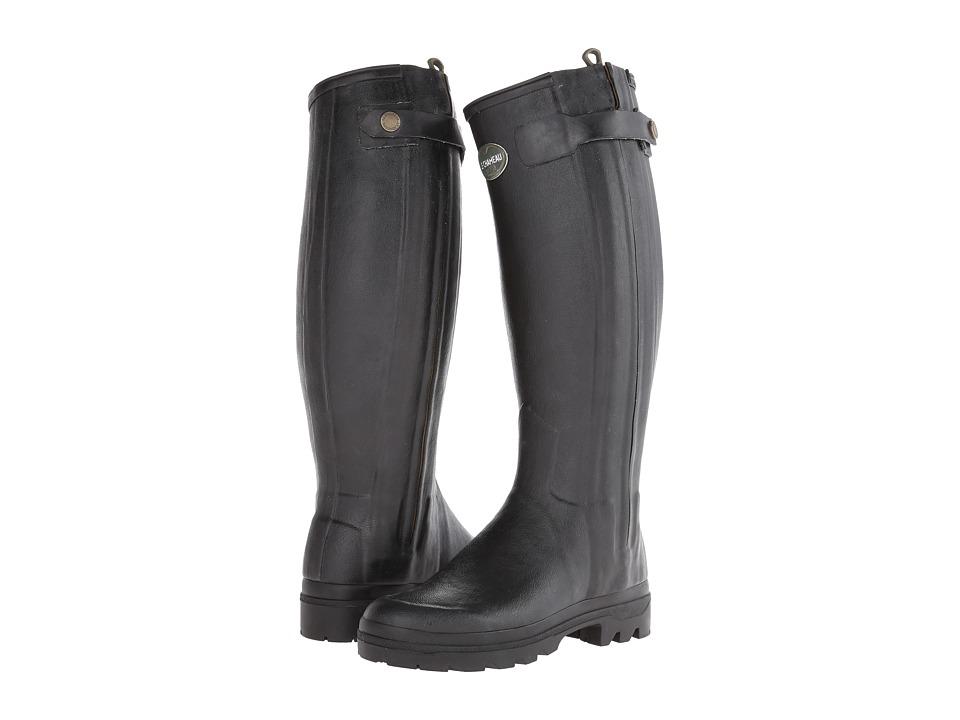 Le Chameau - Chasseur (Black) Women's Boots