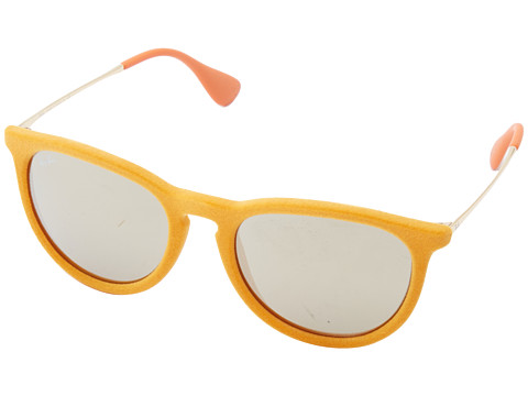 Ray-Ban - Erika (Yellow Velvet) Plastic Frame Fashion Sunglasses