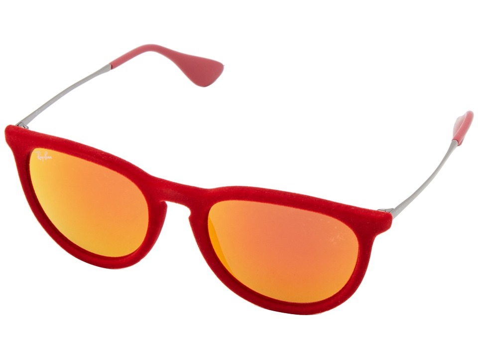 Ray-Ban - Erika (Red Velvet) Plastic Frame Fashion Sunglasses