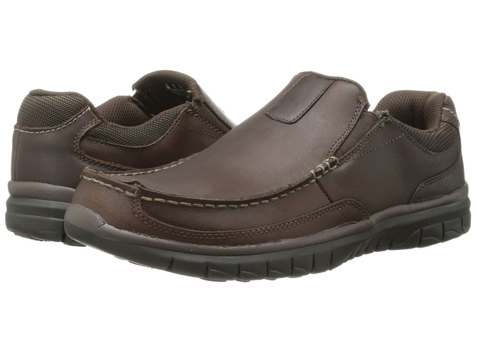 Dr. Scholl's - Epic (Brown Derby) Men's Slip on Shoes