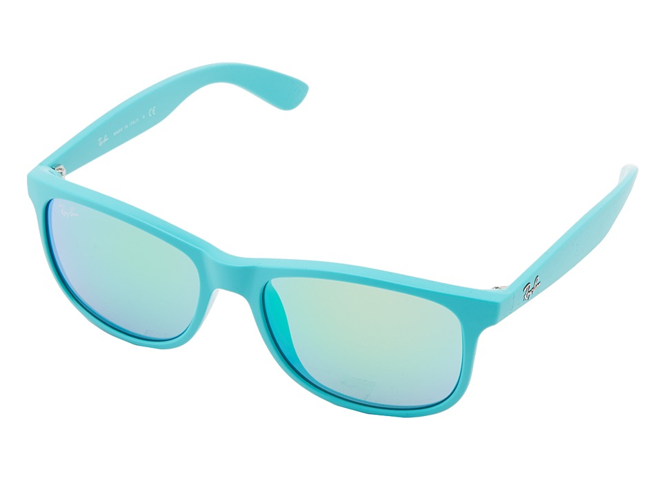 Ray-Ban - RB4202 Andy 55mm (Light Blue) Fashion Sunglasses