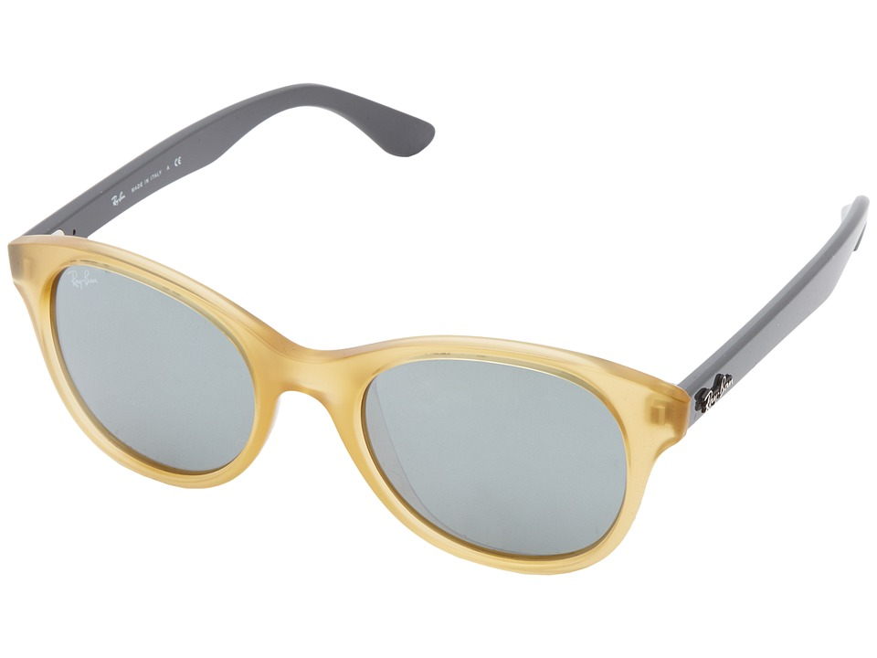 Ray-Ban - RB4203 51mm (Opaline Yellow) Fashion Sunglasses