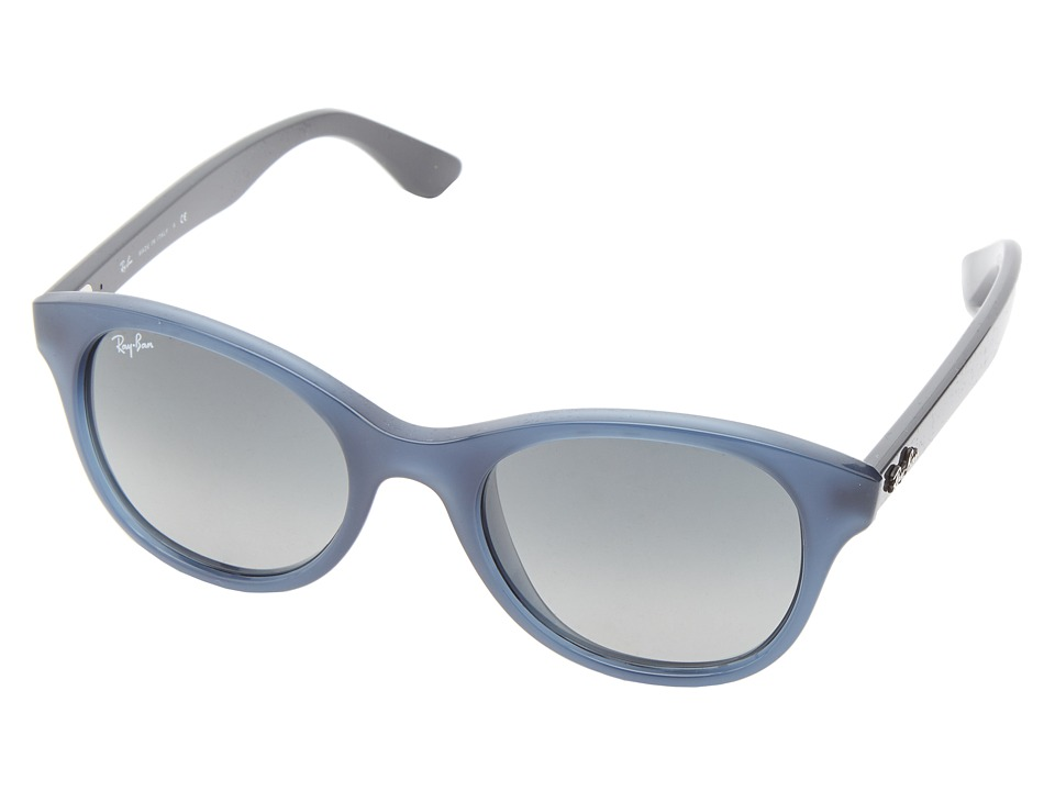 Ray-Ban - RB4203 51mm (Opaline Blue/Grey) Fashion Sunglasses