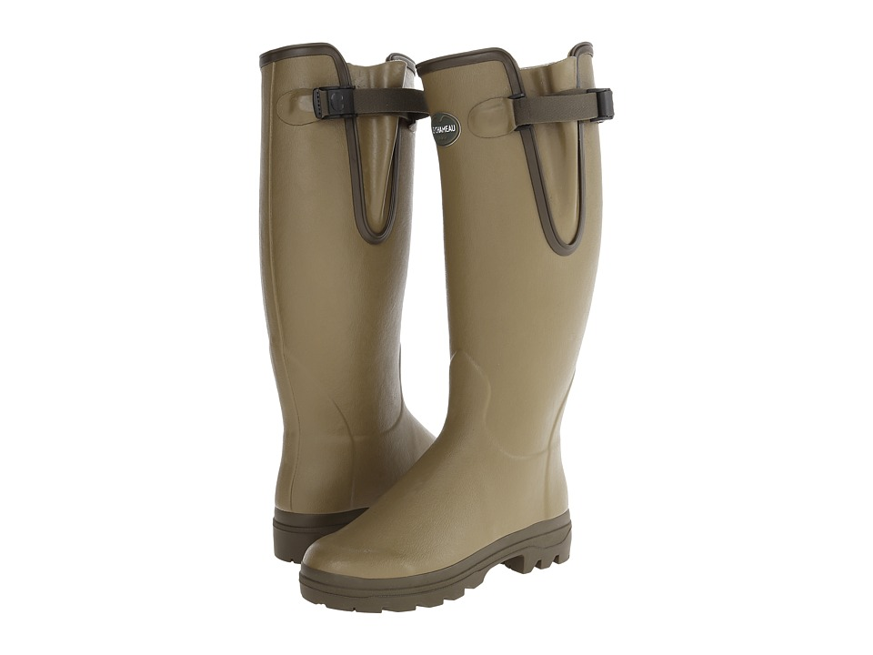 Le Chameau - Vierzon Leather (Vierzon Green) Women's Pull-on Boots