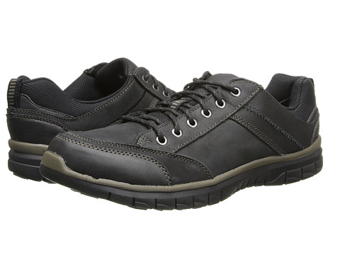 Dr. Scholl's - Grind (Black) Men's Lace up casual Shoes