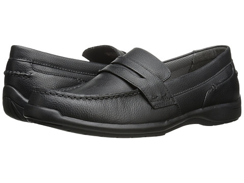 Dr. Scholl's - Rein (Black) Men's Slip on Shoes
