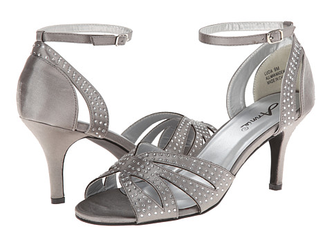 Annie - Lucia (Pewter Satin) High Heels