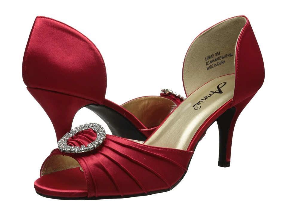 Annie - Librae (Red Satin) Women