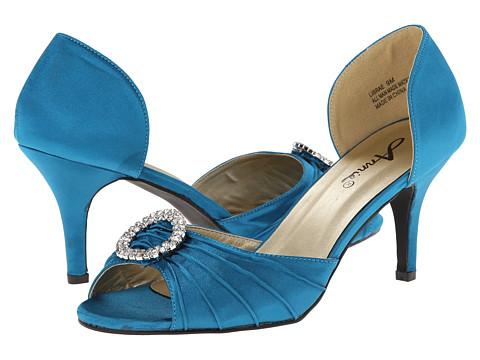Annie - Librae (Teal Satin) Women's Shoes