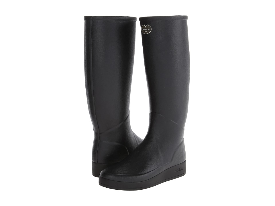Le Chameau - Paris LD Jersey (Black/Black) Women's Boots