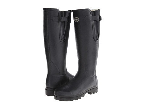 Le Chameau - Vierzon LD Fur (Black) Women's Boots