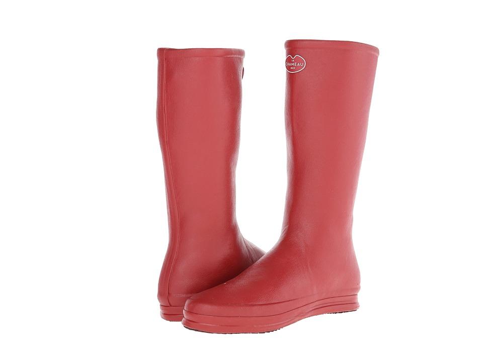 Le Chameau - Cabourg (Carmine Red/Grape) Women's Boots