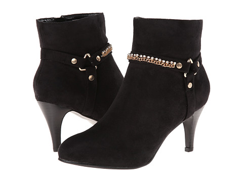Annie - Sleek (Black Suede) Women