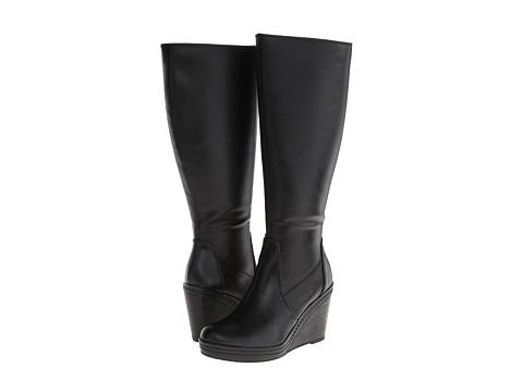 Dr. Scholl's - Bellamy Wide Calf (Black) Women's Shoes