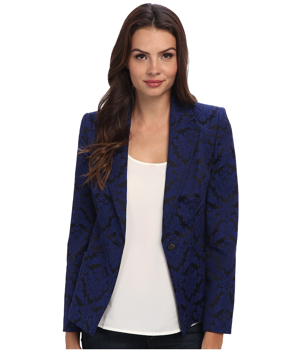 Ted Baker - Irys Jacquard Jacket (Bright Blue) Women's Jacket