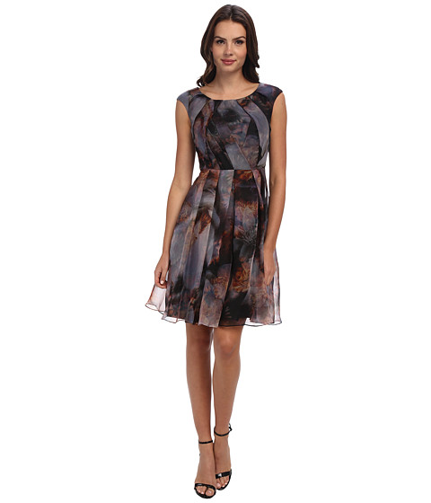 Ted Baker - Hollye Blooms Of Enchantment Dress (Black) Women's Dress