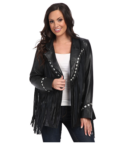 Tasha Polizzi - Iris Jacket (Black) Women's Coat