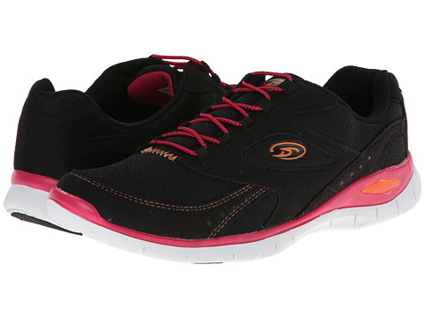 Dr. Scholl's - Frenzy (Black/Red) Women's Lace up casual Shoes